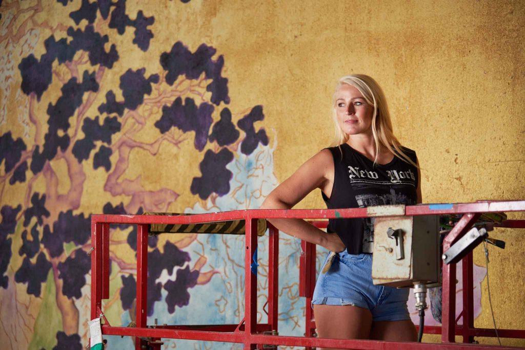 Anna Murphy - artist and muralist