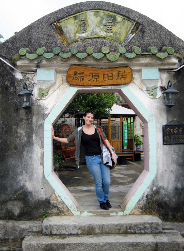 Desiree Argentina of According to Des in China