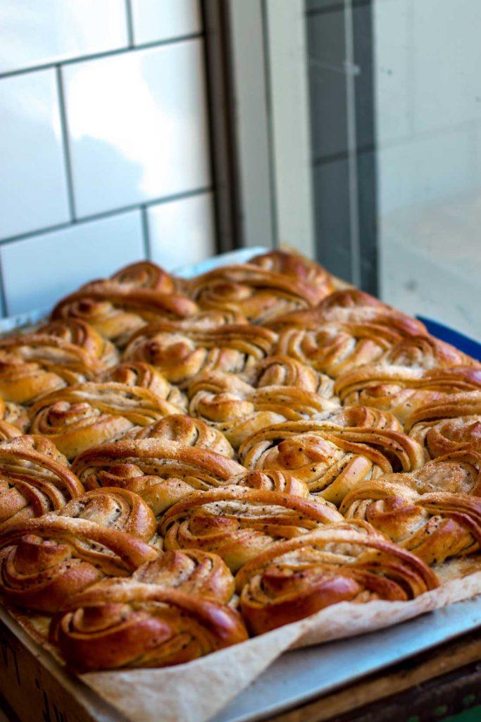 Writer loves local bakeries - Amina Frances