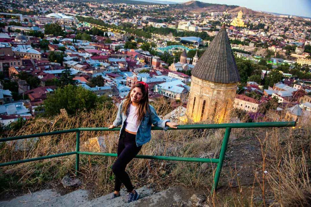 Brianne Caplan - traveling in Georgia - women in tech