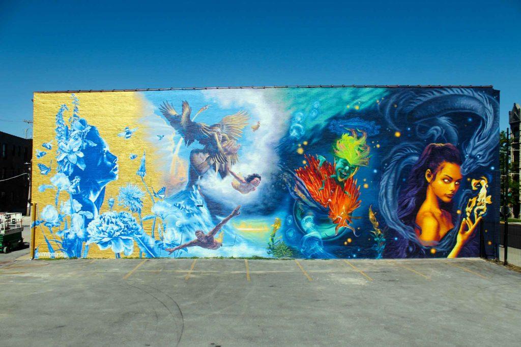 Anna Murphy Chicago muralist new project
