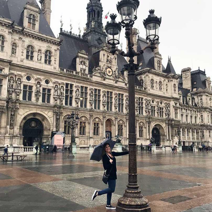 Kelly Nash in Paris, France