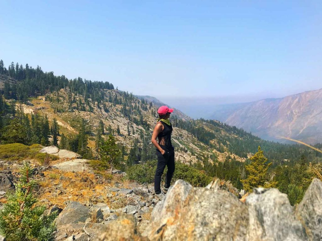 Hiking outside - Jenny Vyas