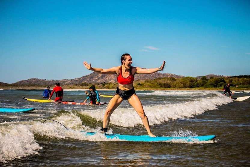 Learning how to surf - Terilyn Eisenhauer | Tarot, theater and travel