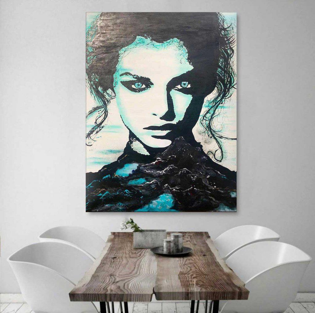 Canvas by Jenny Vyas - Chicago artist