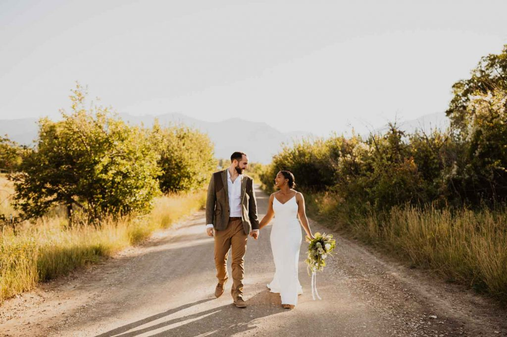 Amina Frances Wedding | Cassie Madden Photography Wyoming