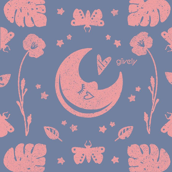 Pink Moon - Gively Studio founded by Alexandra Pourvali