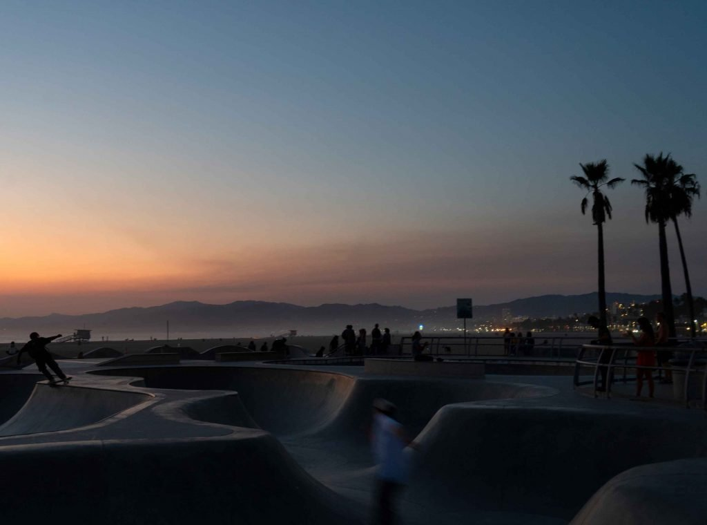 Venice Beach Skate Park California Cities