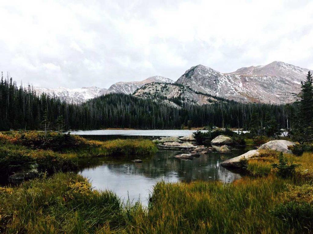 Views of Rocky Mountain National Park in Colorado