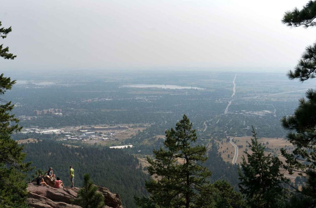 Views from the Flatiorns - Boulder Colorado things to do