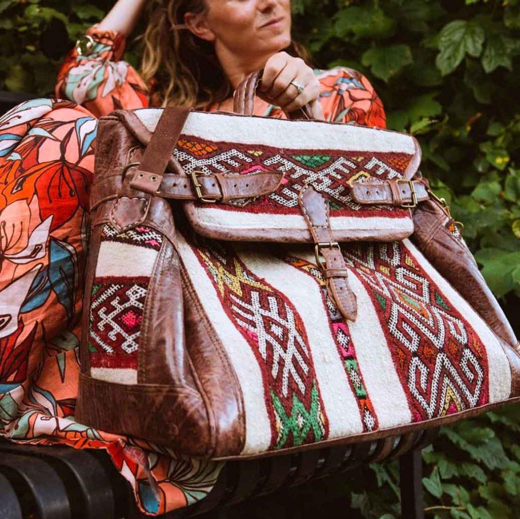 Weekend getaway travel bag - MAYTA Collection