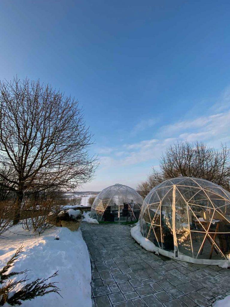 The Igloo Experience at The Ridge Hotel - Winter in Lake Geneva