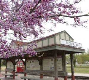 Katy Depot in Sedalia Missouri