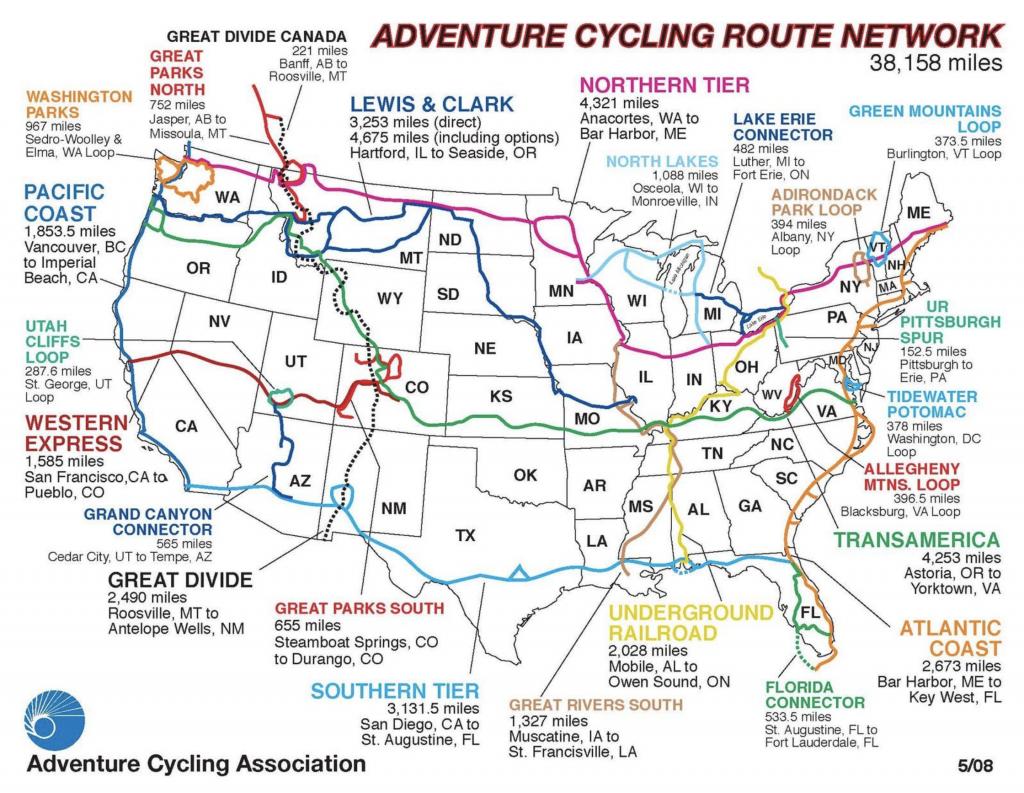 US biking trail system - passes through Sedalia, Missouri