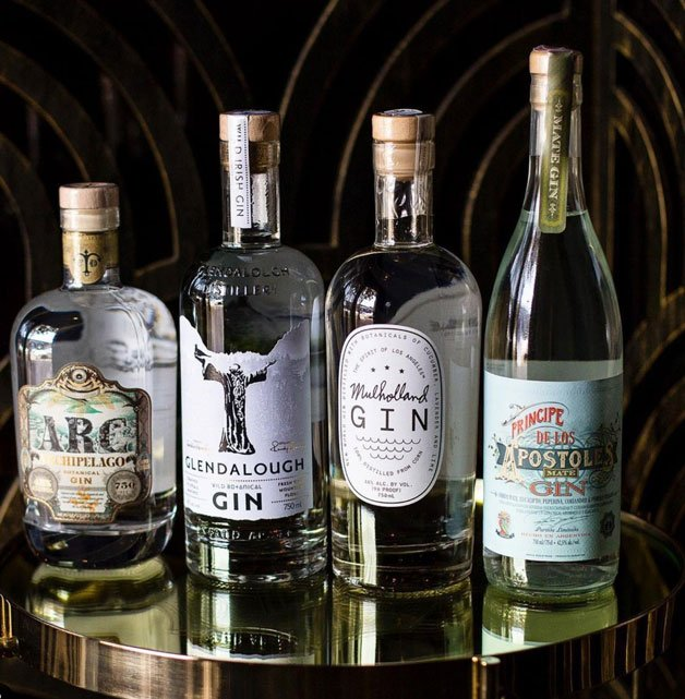 gin features from Genever - a gin bar in LA