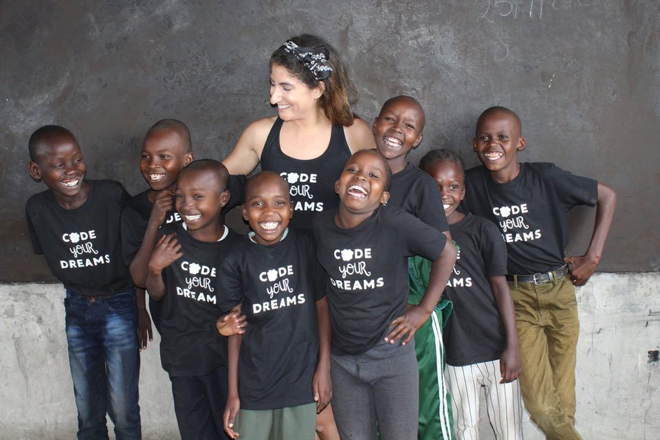 Code Your Dreams visits Kenya and TechLit Africa