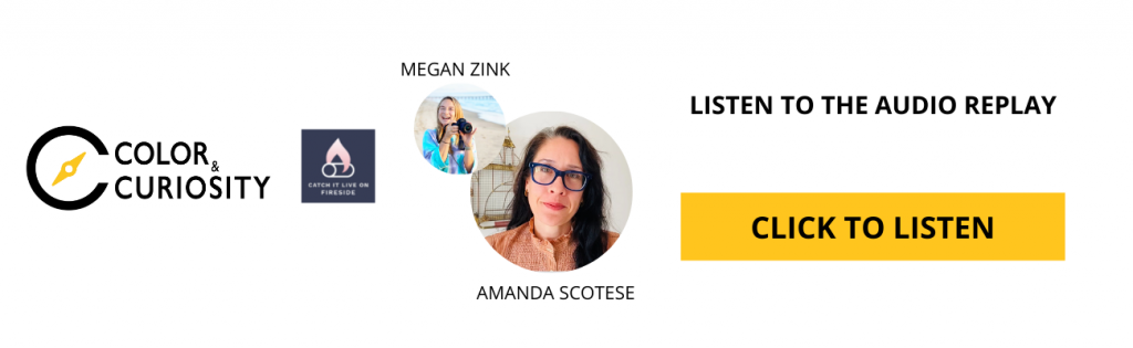 Wider Worldview podcast on Fireside with Megan Zink and Amanda Scotese of Chicago Detours