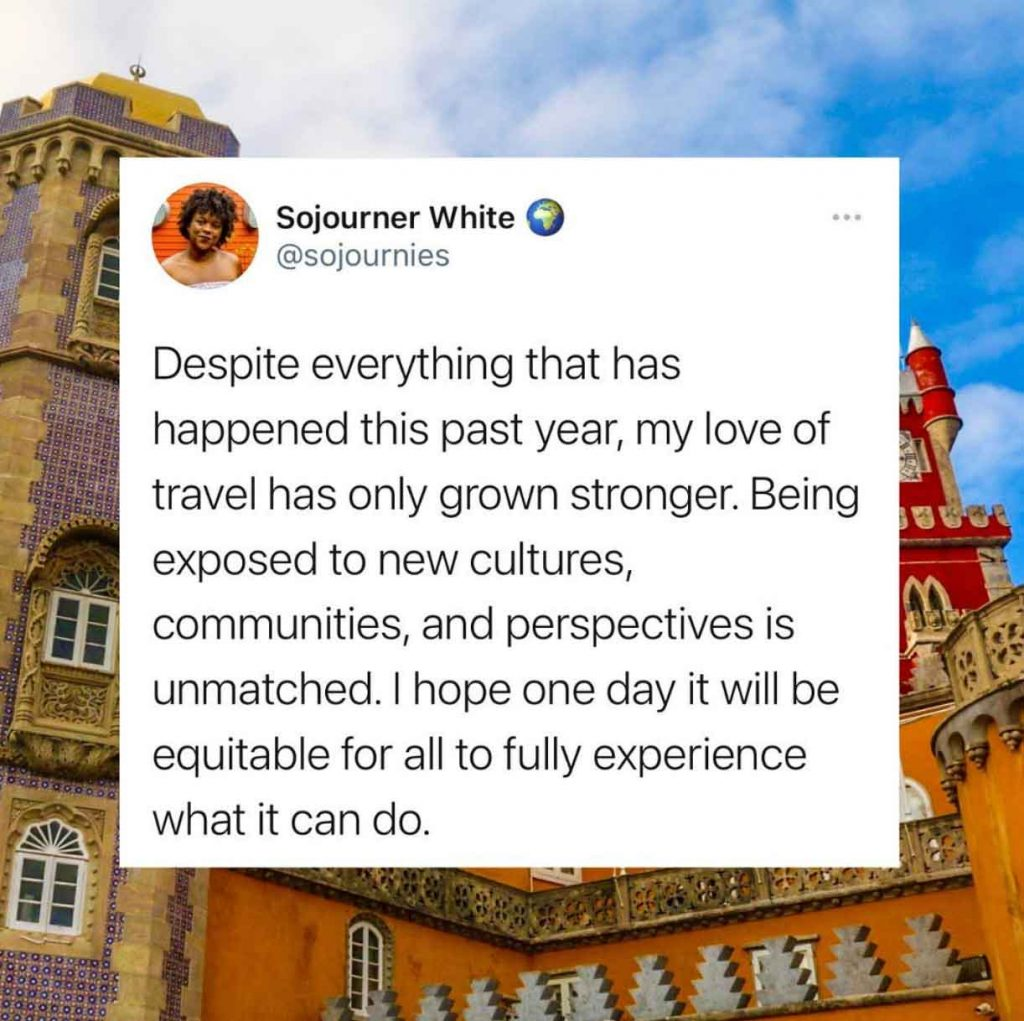 The Sojournies - Sojourner White on privilege in travel and making it more accessible
